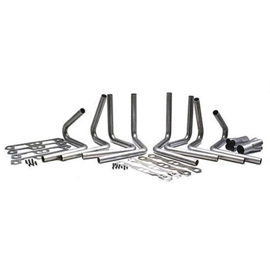 383-440 Mopar Header Kit, 1-7/8 Tube, 3-1/2 Inch Collector