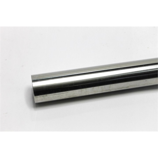 polished stainless steel exhaust tubing 2 1 2 o d 7 foot stick
