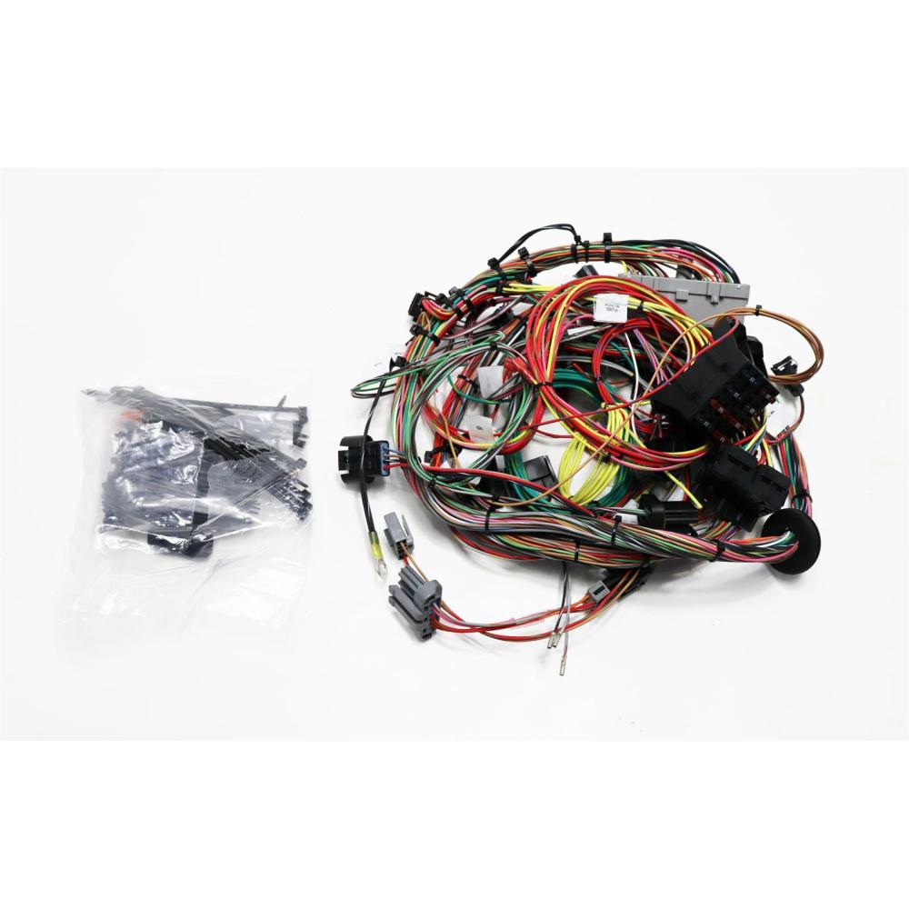 medium resolution of painless wiring 60510 ford 1986 95 5 0l efi wire harness painless performance 60510 50 fuel injection wiring harness