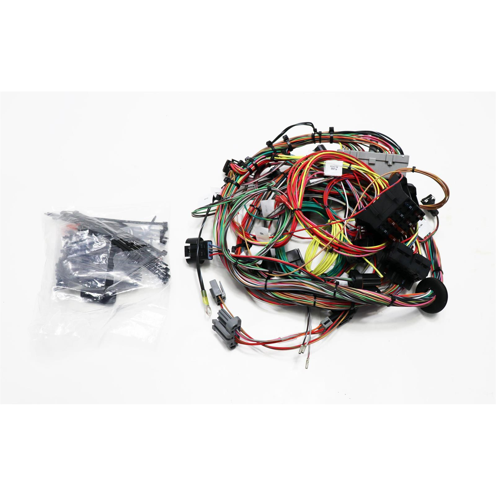 hight resolution of painless wiring 60510 ford 1986 95 5 0l efi wire harness painless performance 60510 50 fuel injection wiring harness