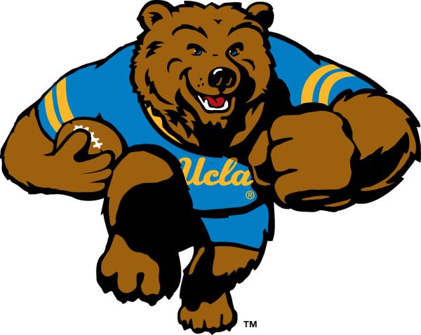 Ucla Bruins Mascot Logo - Ncaa Division U