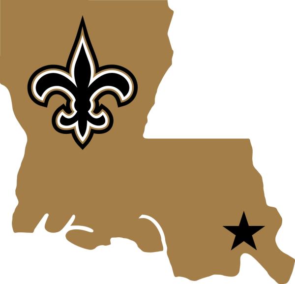 Orleans Saints Alternate Logo - National Football