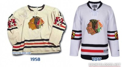 Image result for chicago blackhawks 2017 winter classic jersey
