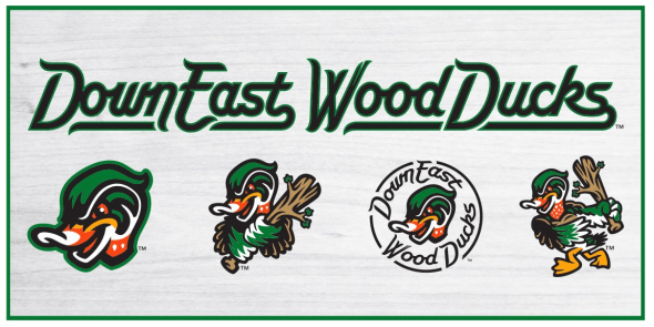 Down East Wood Ducks Logos