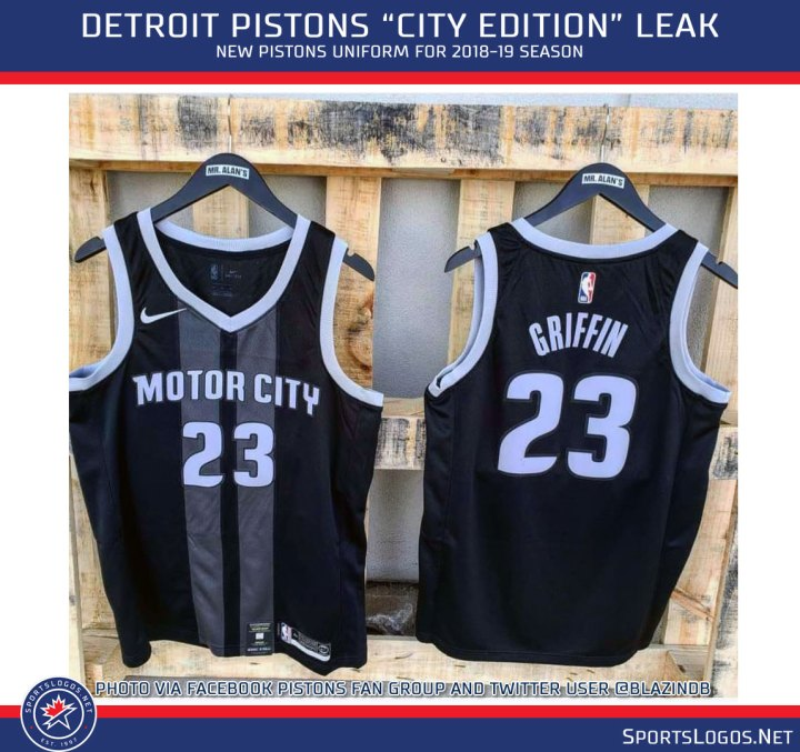 9ccfff8e7 Leaks And Ks At New Warriors Pistons Bulls Uniforms Chris. Detroit Pistons  Unveil Updated City Edition ...