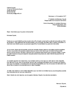 Lettre De Motivation Sans Diplome Et Sans Experience : lettre, motivation, diplome, experience, Modèle,, Exemple, Lettre, Motivation, Brancardier, STAFFSANTÉ