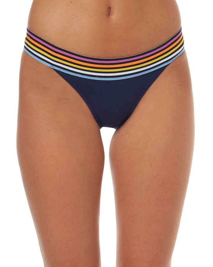 36d99656a1068 Rip Curl Surforama Banded Pant Navy Womens bikini separates Size 14 ...