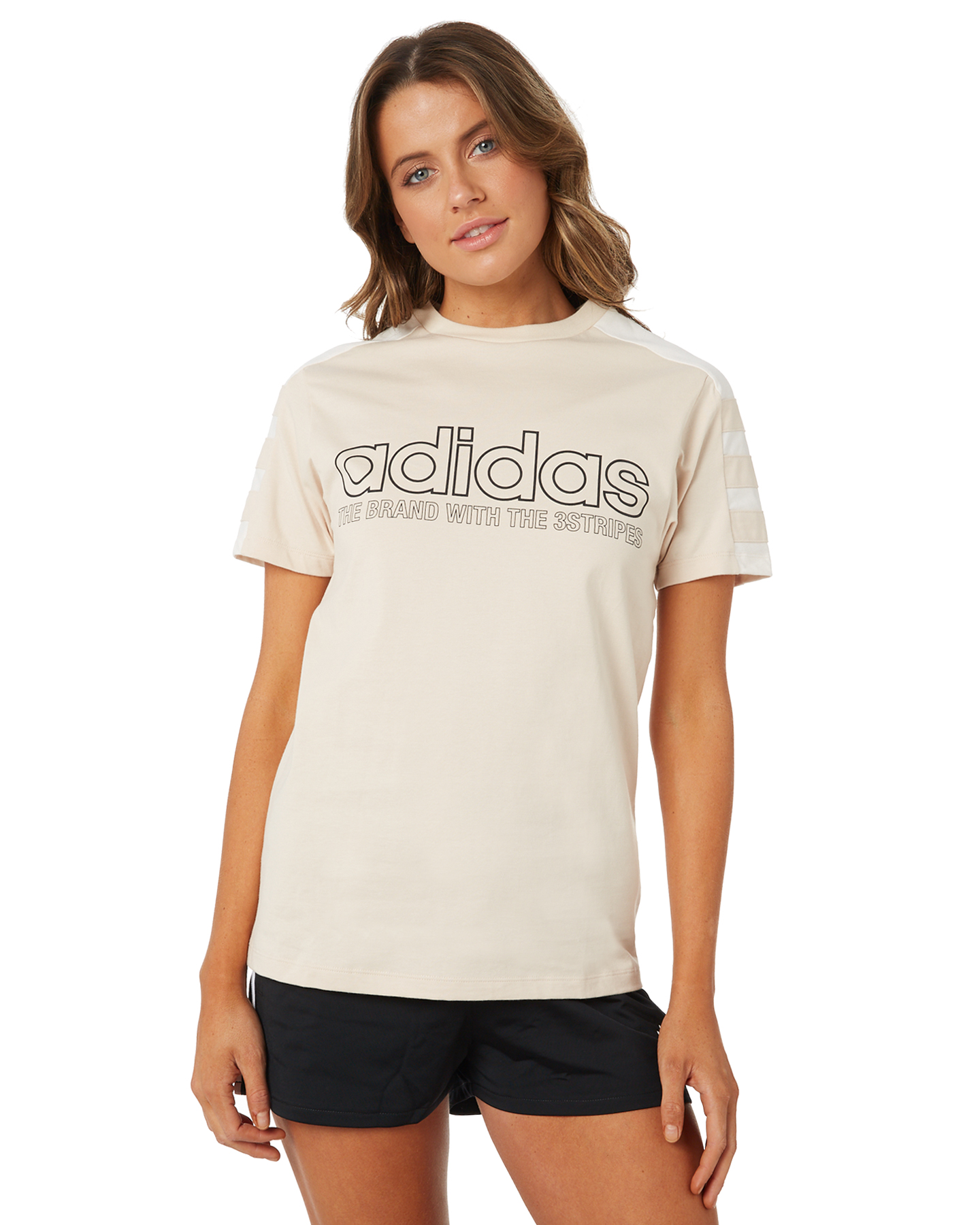 bf6b8f80273 Adidas Tshirt Short Sleeve Linen Linen Womens shirts Size 10 ...