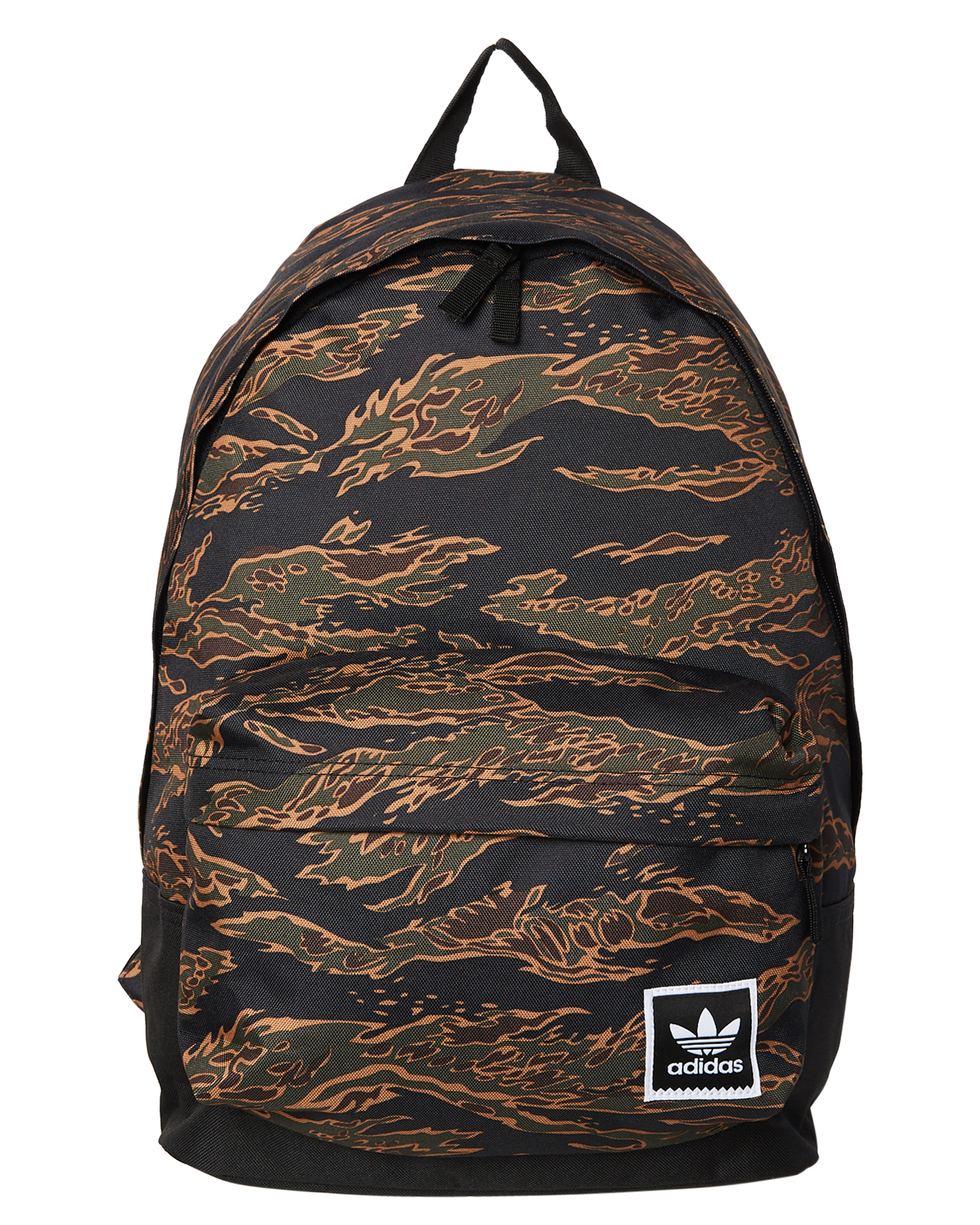 Adidas Tiger Camouflage Backpack Green Mens leisure bags Size ... 5705632f5d626