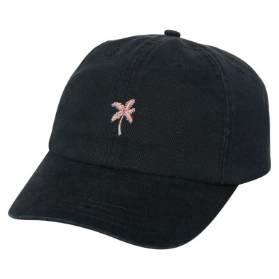 0d026a4e898 Rip Curl Party Palm Dad Strapback Cap Washed Black Mens Accessories Other  Available on sale now in size ...
