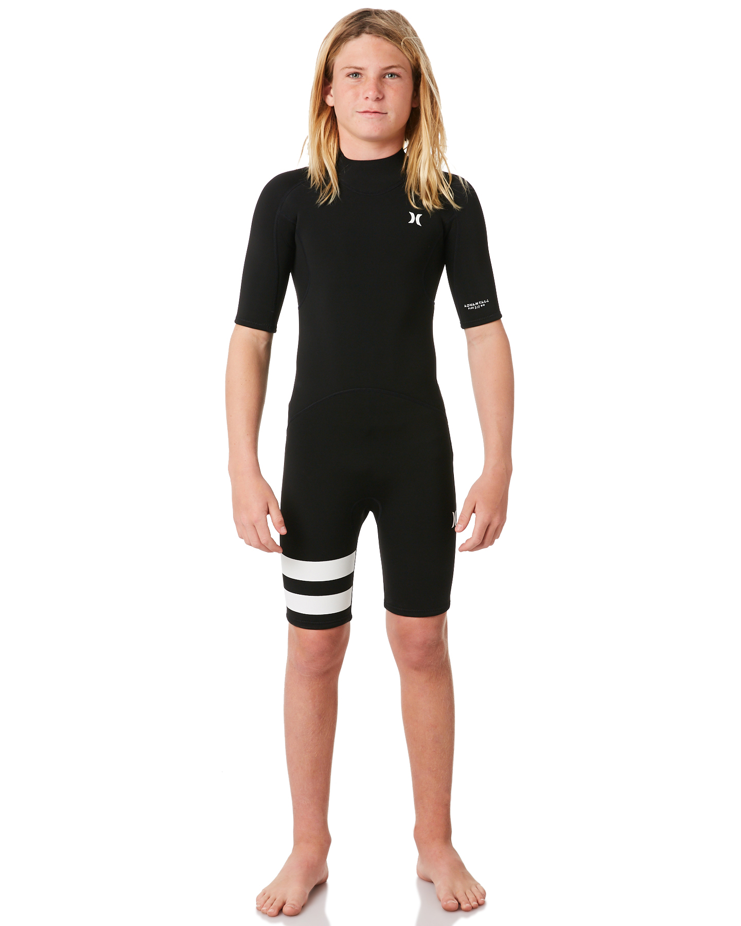 44366b5515 ... Surfing Wetsuits Size 10. Hurley Hurley Boys Advantage Springsuit Black  Hurley Boys Advantage Springsuit Black