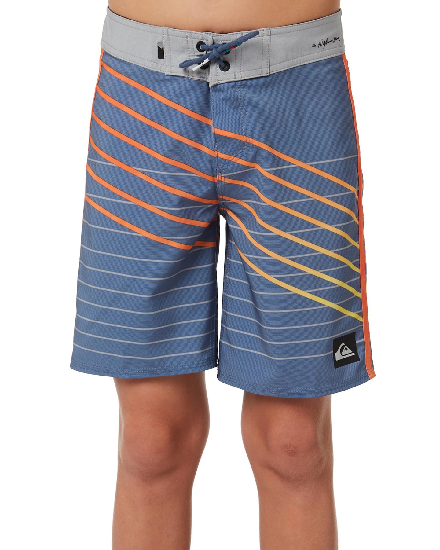 0063eb3751 Quiksilver Highline Shibori Slash Boardshorts Bijou Blue Baby Boys ...