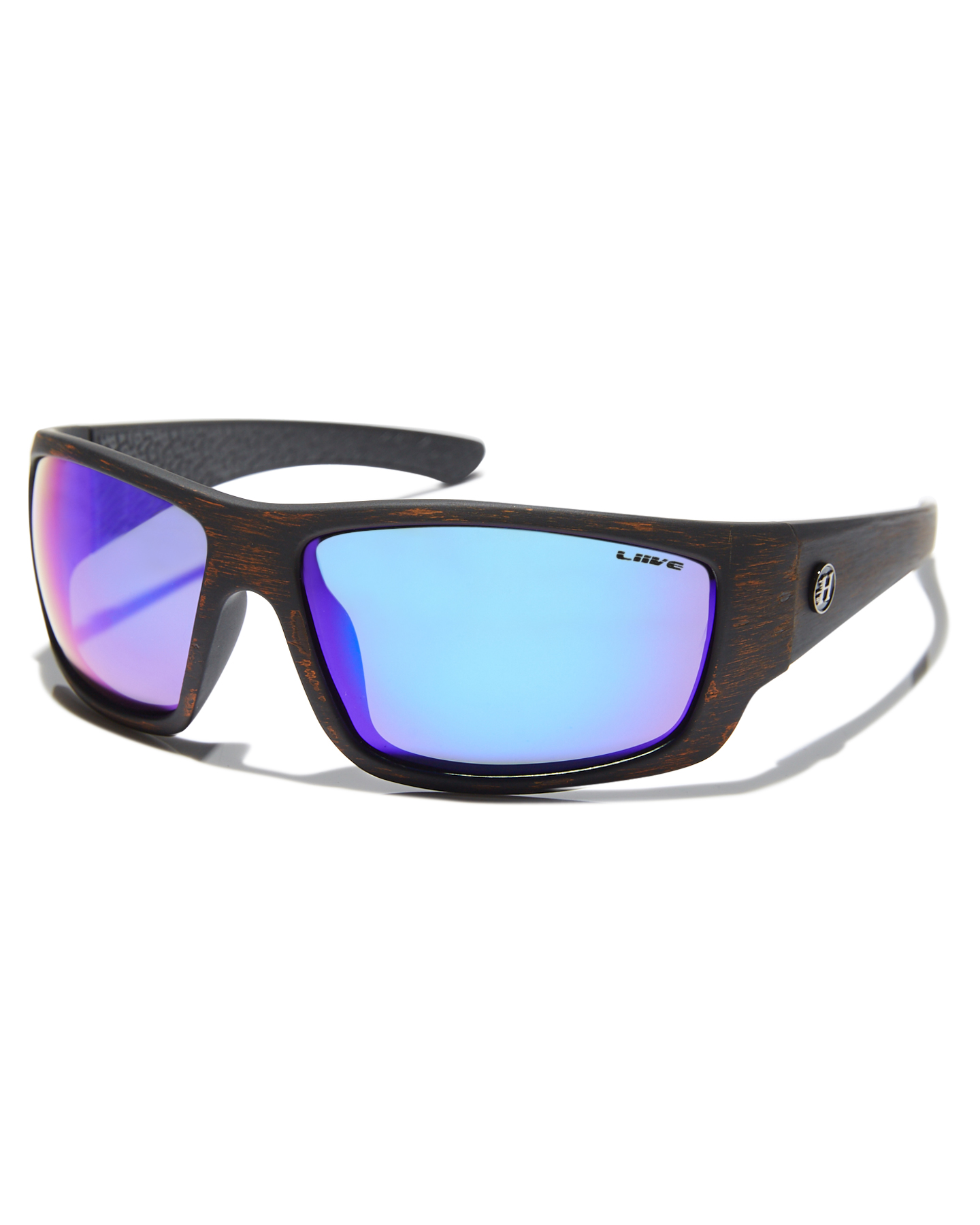 139c21e6187 Liive Vision X Mad Hueys Anchor Polarised Sunglasses Black Wood Mens ...