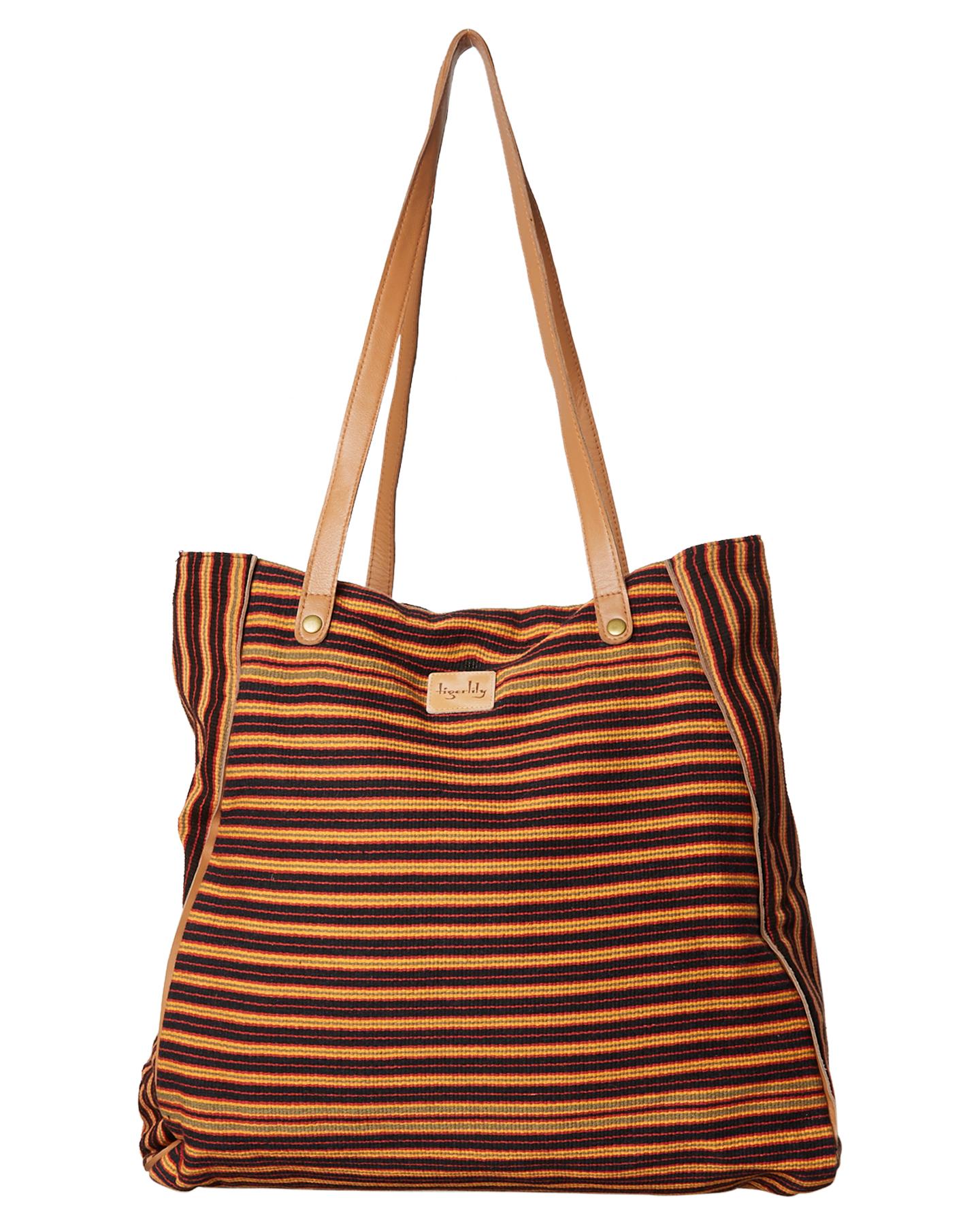 Tigerlily Gulzar Beach Bag Indigo Womens leisure bags Size  592088dd0