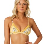 a496b4f446 Seafolly Midsummer Fixed Tri Bra Buttercup Buttercup Womens bikini  separates Available on sale now in size 6 ...