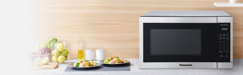 panasonic 1 3cuft stainless steel countertop microwave oven nn sc668s