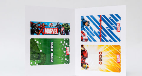 Interchangeable Marvel Faceplates