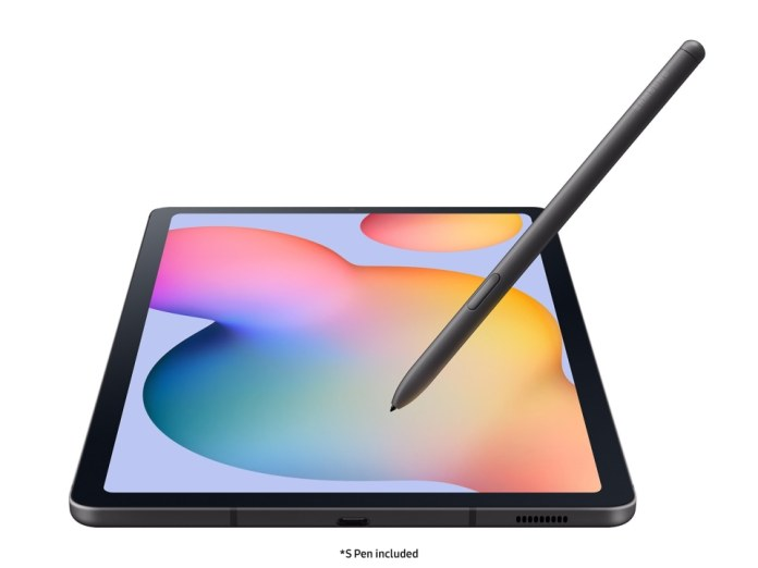 Samsung Galaxy Tab S6 Lite 64gb Oxford Gray Wi Fi S Pen Included Dell Usa