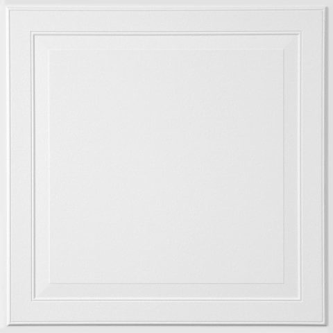 armstrong ceilings 24 in x 24 in single raised 6 pack white patterned 15 16 in drop acoustic panel ceiling tiles