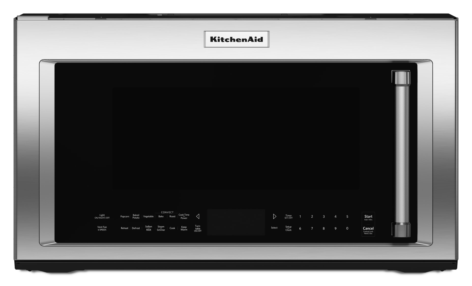 kitchenaid 1 9 cu ft stainless steel over the range microwave hood combination kmhc319ess