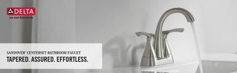 delta sandover spotshield brushed nickel 2 handle 4 in centerset watersense bathroom sink faucet with drain