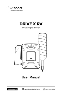 weBoost Drive X RV (471410) Cell Phone Signal Booster