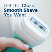 Obtenha o barbear preciso e suave que você deseja