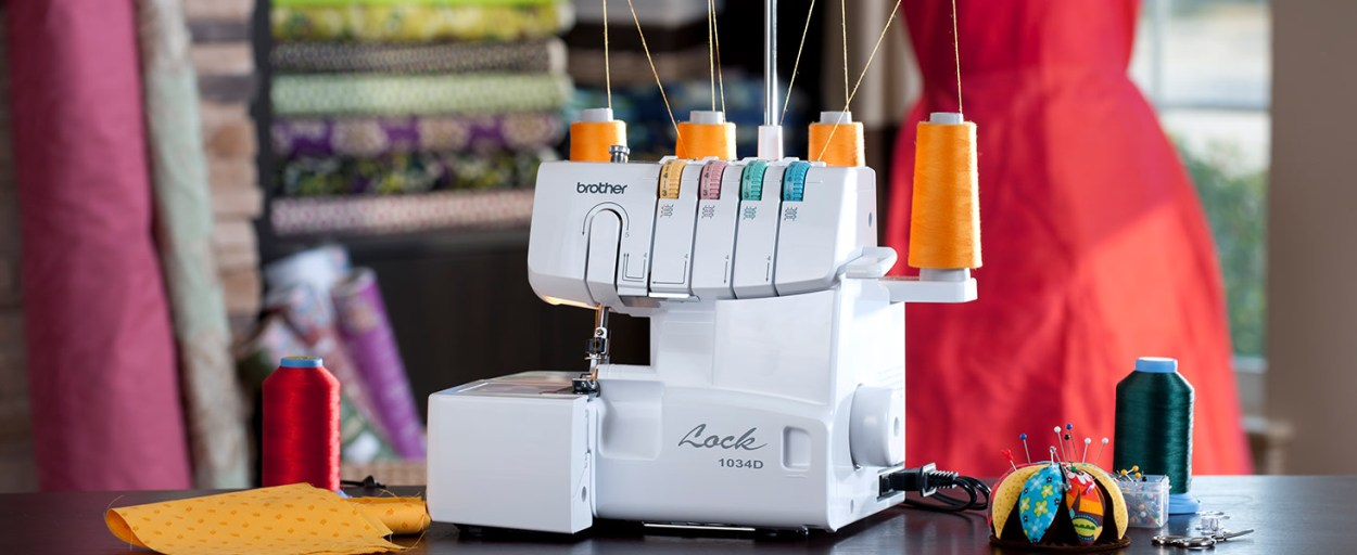 Brother Serger Sewing Machine 1034d