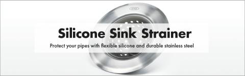 oxo good grips sink strainer