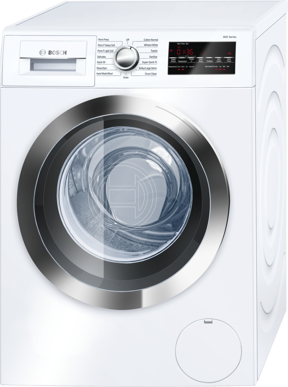 Washer Tray Lowes : washer, lowes, Bosch, 2.2-cu, Efficiency, Stackable, Front-Load, Washer, (White/Chrome, Trim), ENERGY, Lowe's, Canada