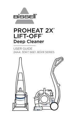 Bissell DeepClean Lift-Off Deluxe Pet Upright Deep Cleaner