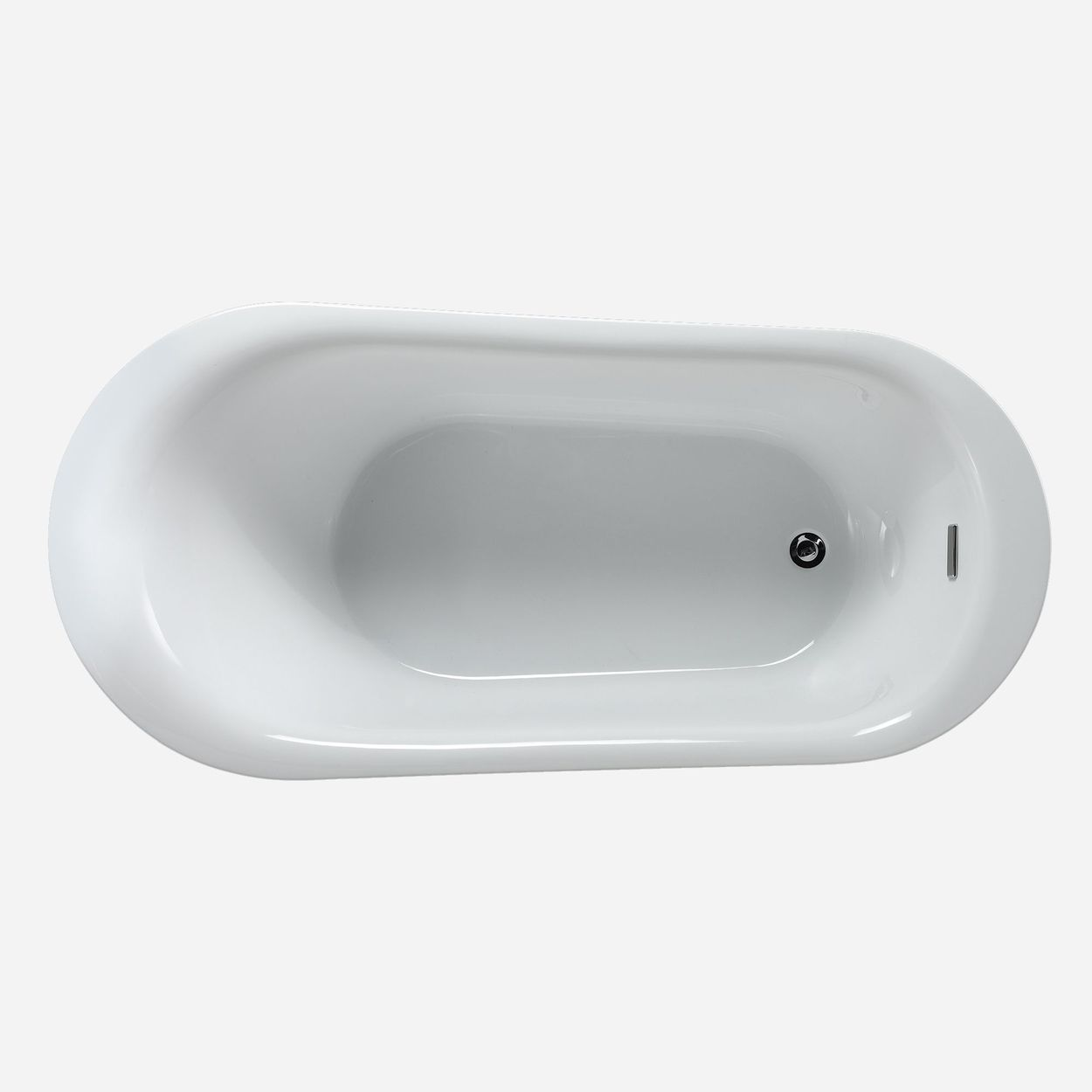 ove decors natalie freestanding tub with athena faucet