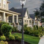 Lutec Outdoor Led Solar Post Light
