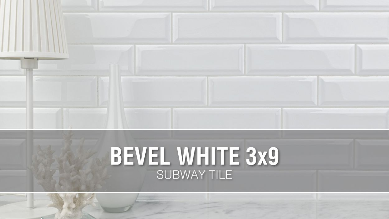 boutique ceramic boutique white 3 in x 9 in glazed ceramic subway wall tile