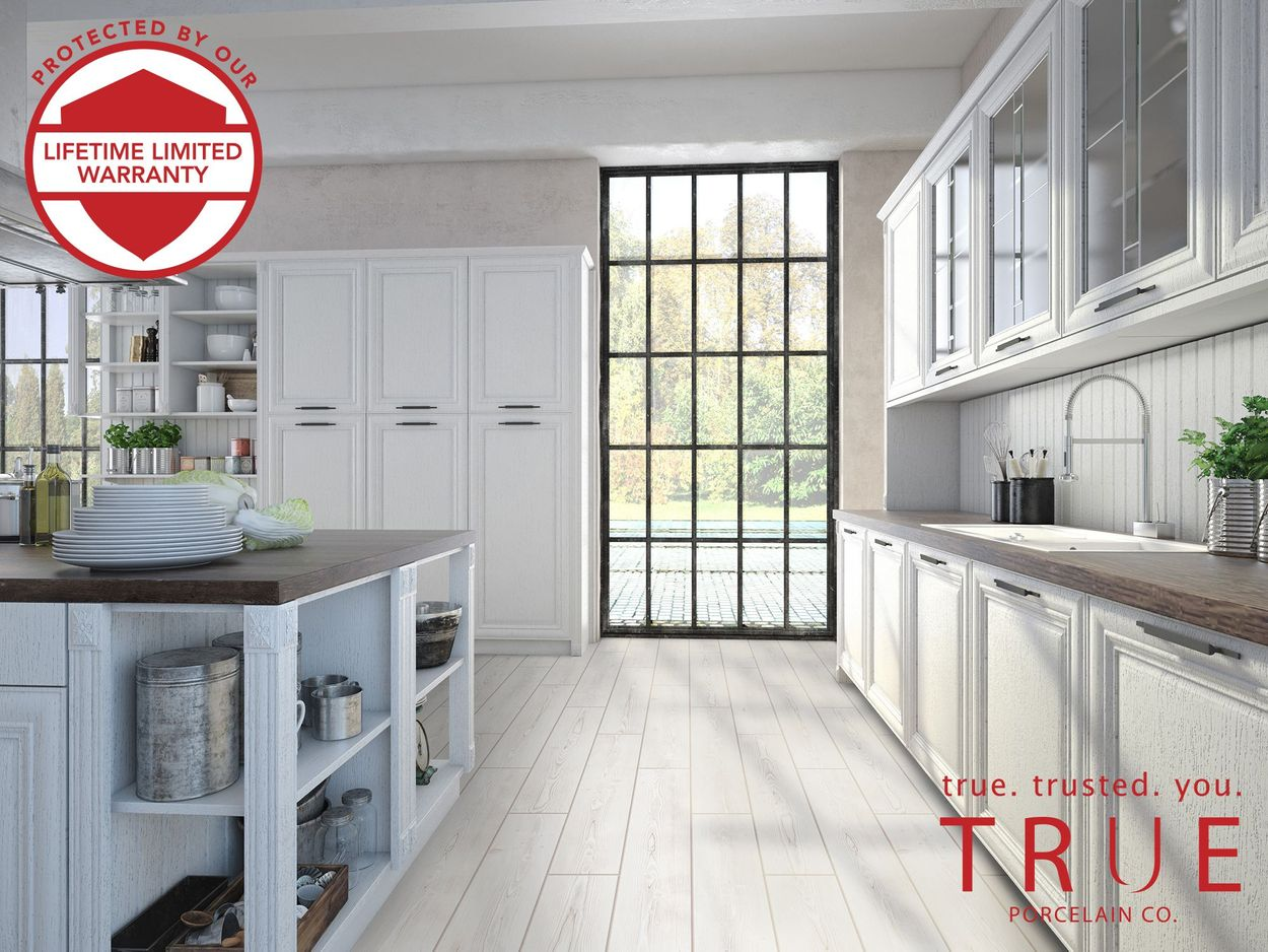 true porcelain co pine wood white 6 in x 36 in matte porcelain wood look floor and wall tile