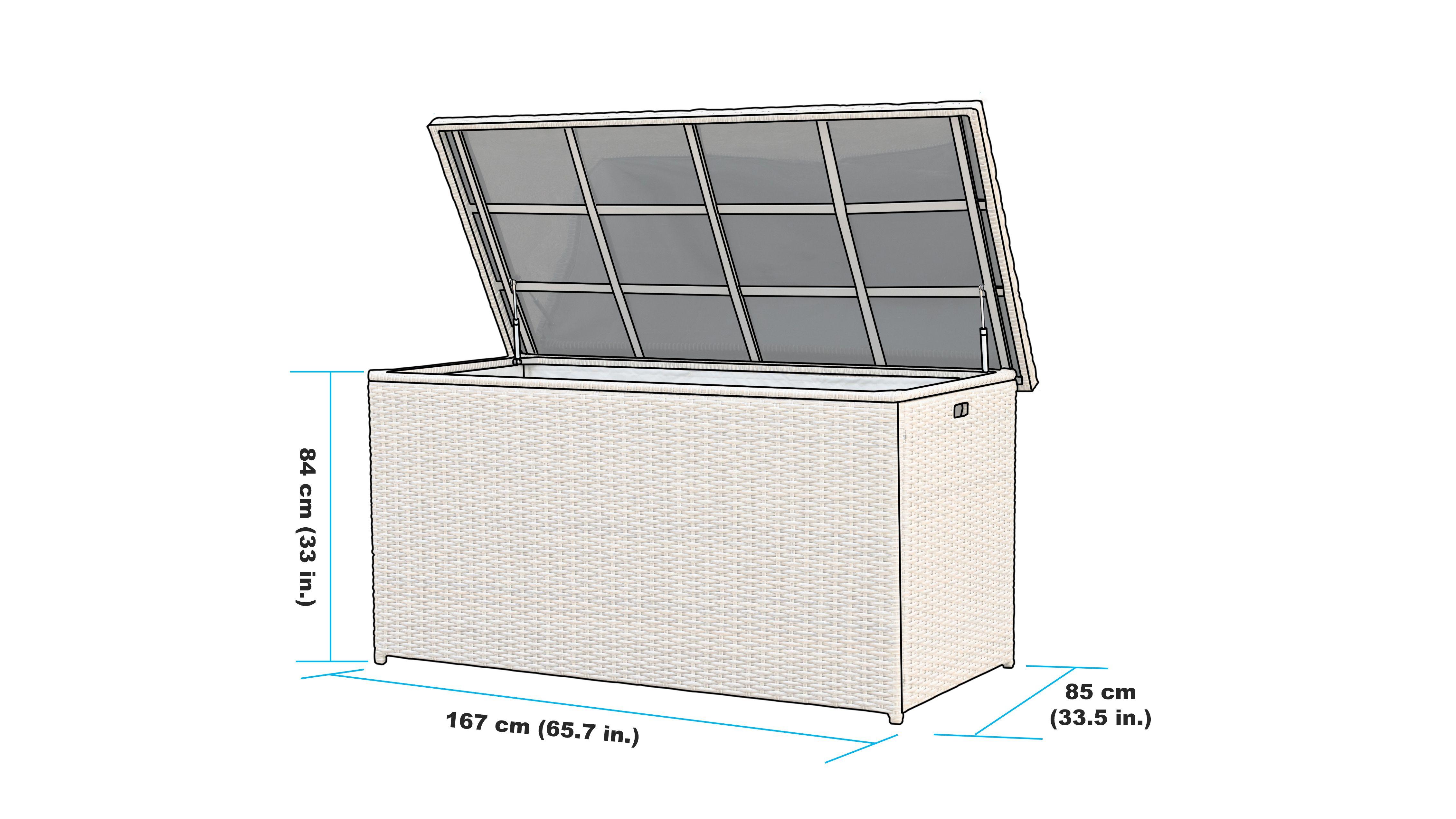 niko patio storage box