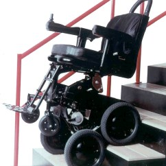 Wheelchair Up Stairs Metal Bistro Chairs Sale Kgw Toyota Joins Dean Kamen On That