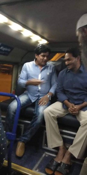 Image result for ali with jagan mohan reddy