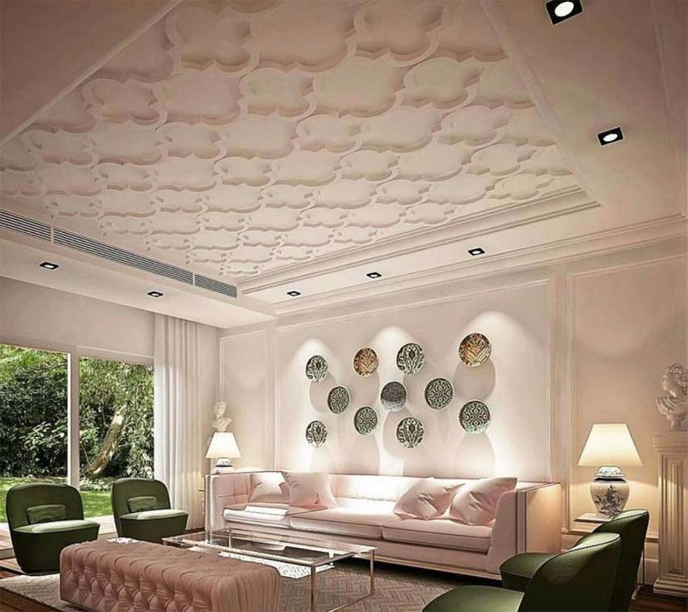 17 Unique Ceiling Design Ideas For Interior Design Unika Vaev   Ceiling Design For Stairs Area   Wall Light   Reception   Internal Staircase Wall   Interior   Show Room