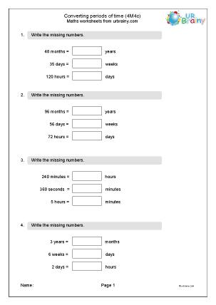 Reasoning: Measurement Maths Worksheets for KS2 Maths SATs