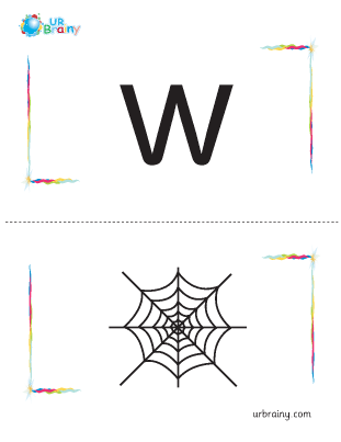 w-web flashcard