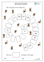 Year 1 Maths Worksheets (age 5-6)