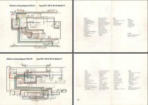 Electric Wiring Diagram 911 (1971)  Elektrische