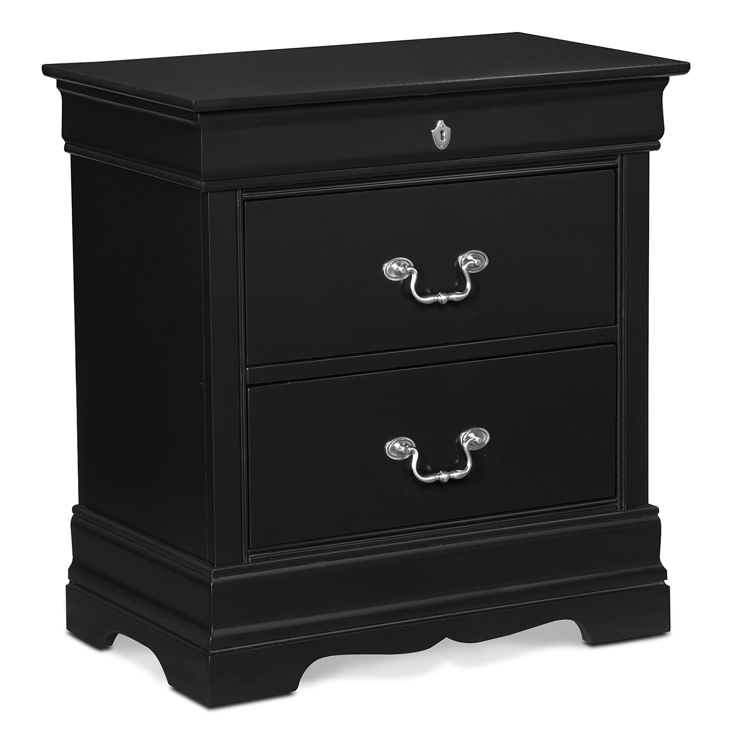 The Neo Classic Collection Black Value City Furniture