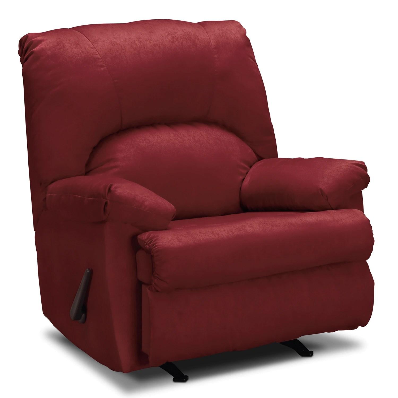 Quincy Rocker Recliner Garnet Value City Furniture