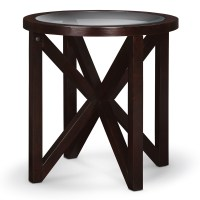 Starburst Cocktail Table and 2 End Tables - Merlot | Value ...