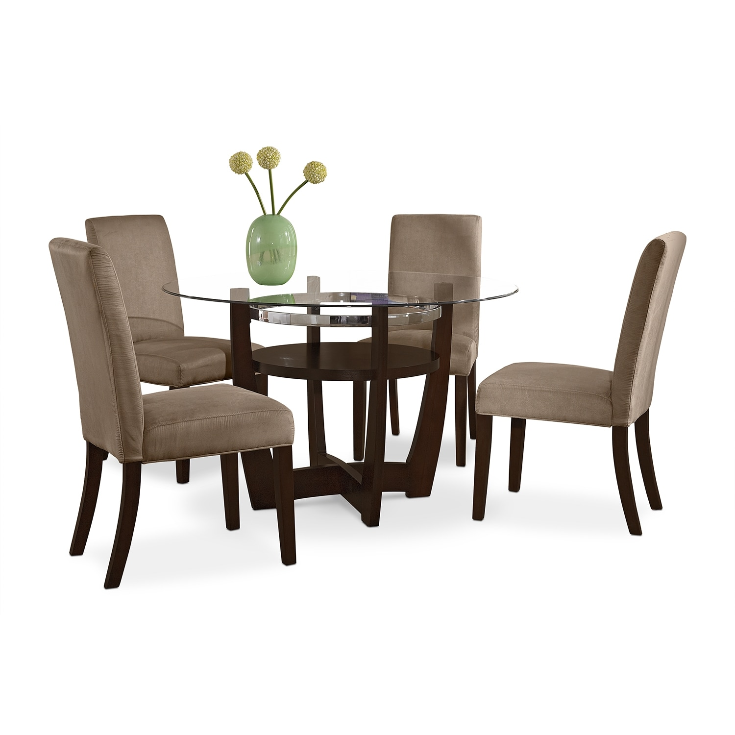 Value City Chairs Alcove Dinette With 4 Side Chairs