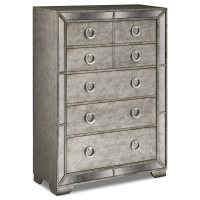 The Angelina Bedroom Collection - Metallic | Value City ...