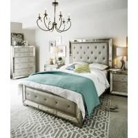 Angelina 6-Piece Queen Bedroom Set - Metallic | Value City ...