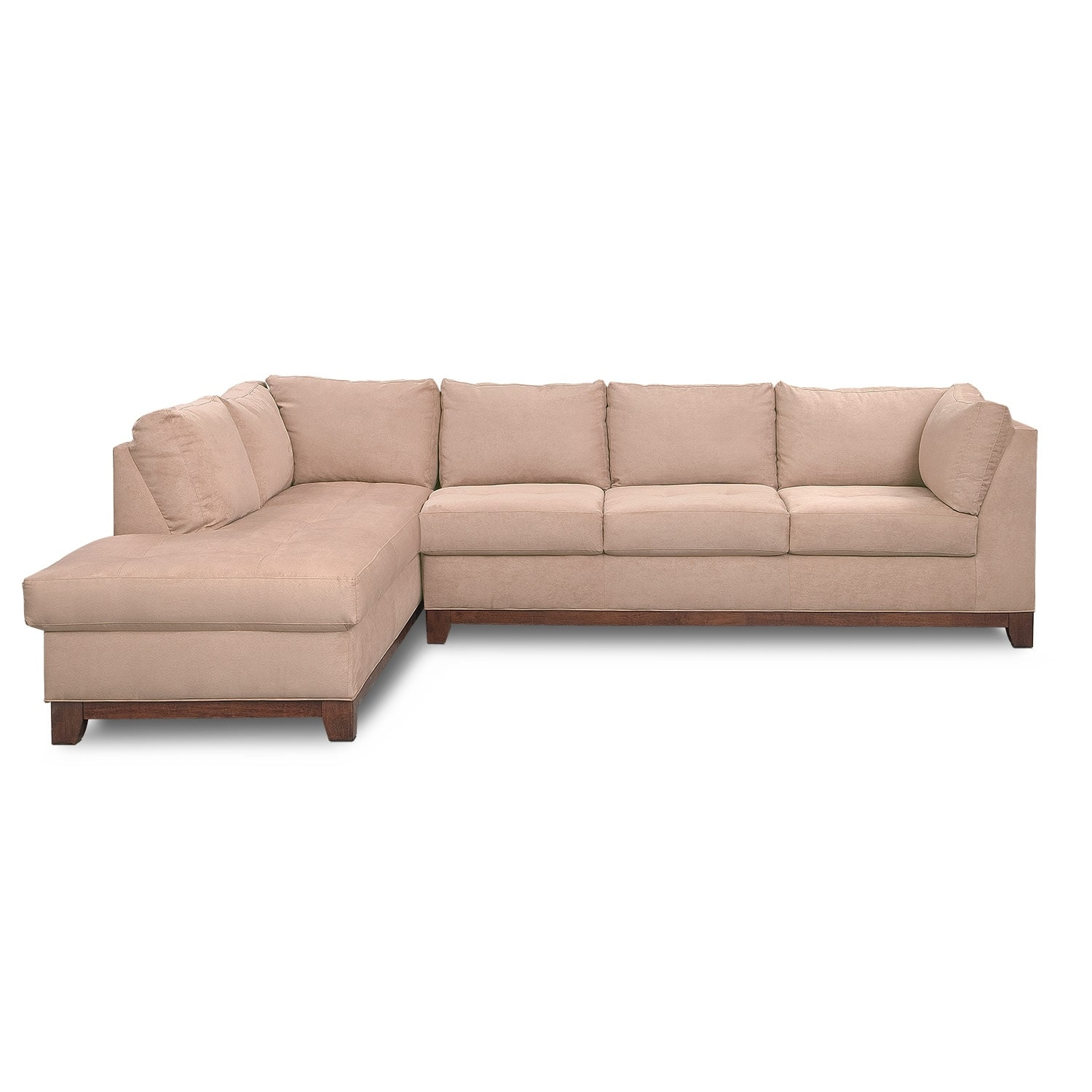 where to donate sectional sofa broyhill perspectives review soho 2 piece with left facing chaise
